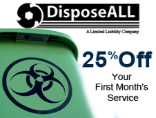 25% Off, Your First Month's Service